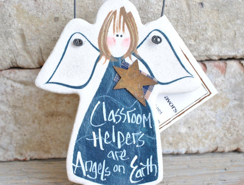 Classroom Helper Salt Dough Ornament