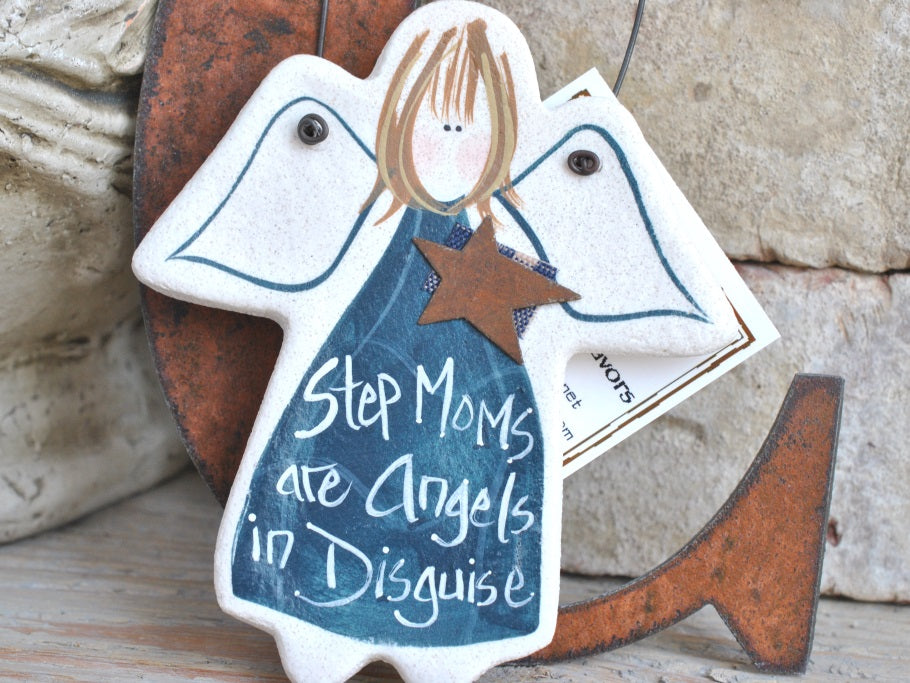 Step Mom Gift Salt Dough Ornament Mothers Day Cookie Creations