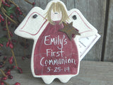First Communion Gift Salt Dough Ornament