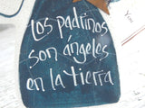 Gifts for Godparents Salt Dough Ornament / Spanish Version
