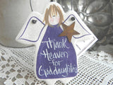 Goddaughter Salt Dough Ornament