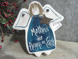 Mother's Day Salt Dough Angel Ornament for Mom