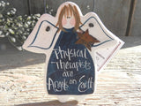 Physical Therapist Gift Salt Dough Ornament