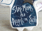 Step Mom Gift Salt Dough Ornament