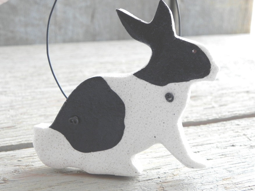 Dutch Rabbit Salt Dough Ornament