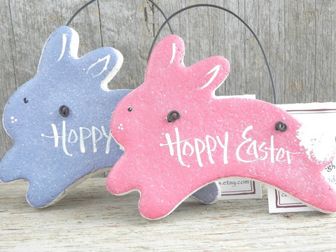 Hoppy Easter Salt Dough Bunny