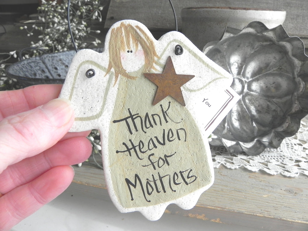 mother s day wedding day gift for mother salt dough ornament