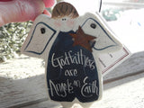 Godfather Gift Salt Dough Ornament