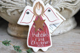 Baby's 1st christmas ornament personalized baby gift First Christmas