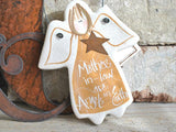 Small Mother's Day gift for Mother in Law salt dough ornament