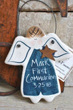 Communion Gift Salt Dough Ornament