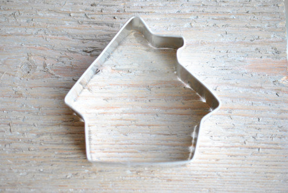 Gingerbread / Dog house / Haunted house Cookie Cutter 3.5 inch Baking / Craft Supplies