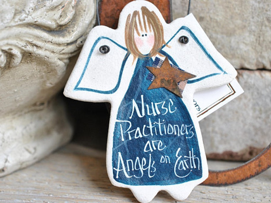 gift for nurse practitioner gifts for nurses salt dough ornaments