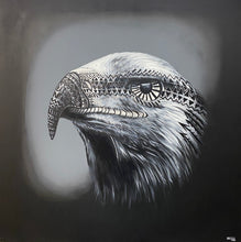 Load image into Gallery viewer, American Eagle, 4.5 x 4.5' Original Painting