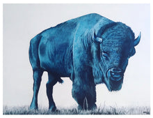 Load image into Gallery viewer, Blue Buffalo Print!