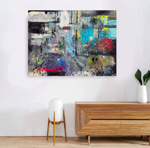 Load image into Gallery viewer, Downtown, 3' x 4' Original Painting