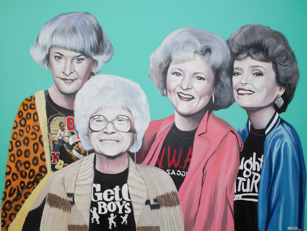 Golden Girls Tear Up Coachella Print!