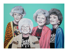 Load image into Gallery viewer, Golden Girls Tear Up Coachella Print!