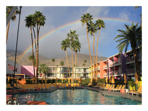 Palm Springs Rainbow Print!