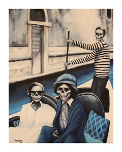 The Jaggers in Venice Print!