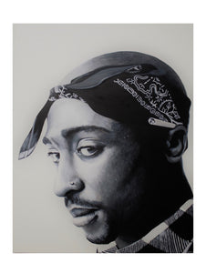Tupac Black and White Print!