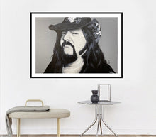 Load image into Gallery viewer, Vinnie Paul Black and White Print!