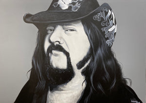 Vinnie Paul Black and White Print!