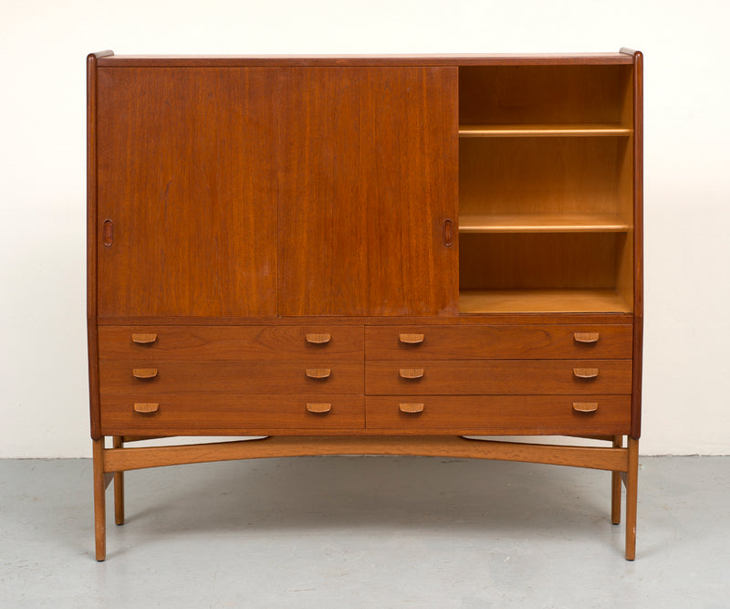 Poul Volther Tall Teak Cabinet