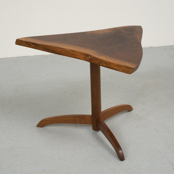 Black Walnut Side Table by George Nakashima, 1977