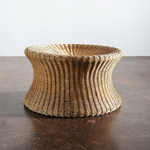 Medium Juttu Wicker Stool by Eero Aarnio, Finland, 1960s
