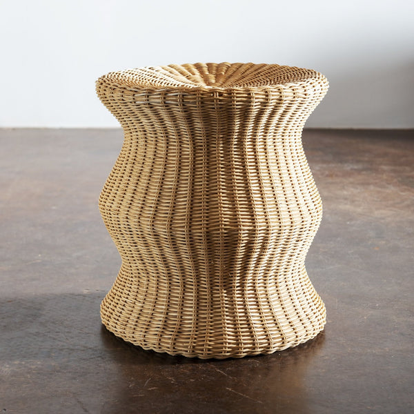 Tall Juttu Wicker Stool by Eero Aarnio, Finland, 1960s