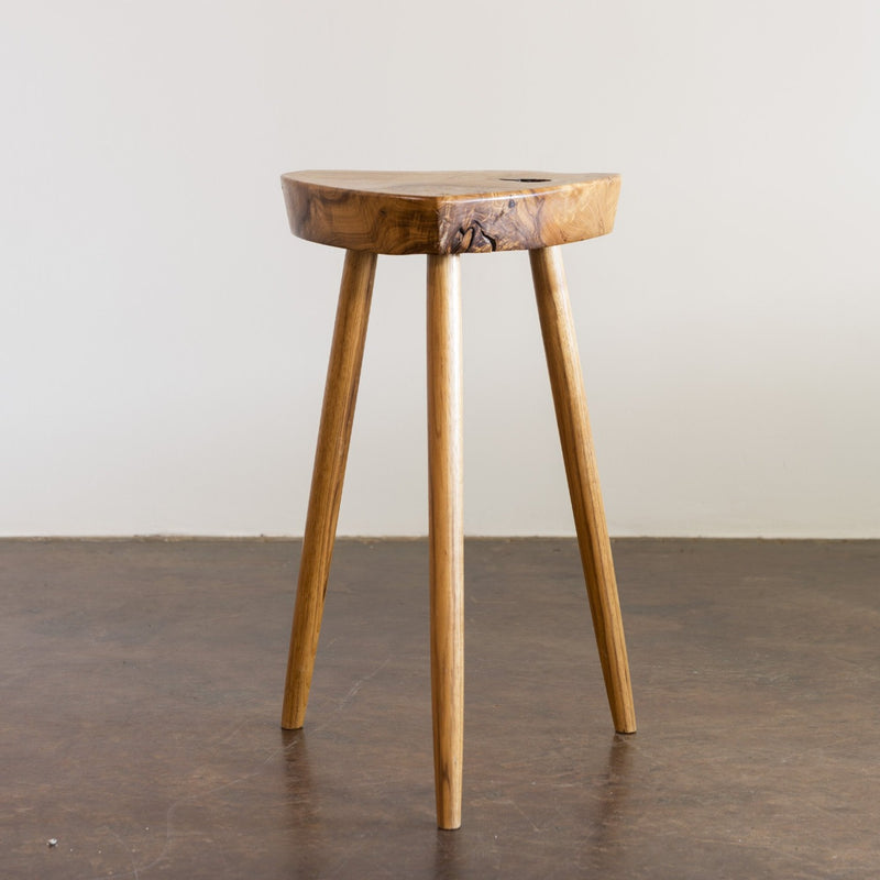 George Nakashima Rare Early Side Table in Ash, New Hope, 1950s