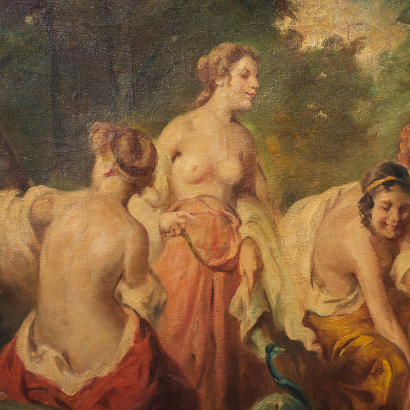 17th Century French Nymphs Painting
