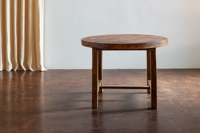 Rustic Oak Dining Table, France, 1900