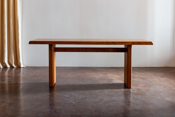 Pierre Chapo T14 Dining Table, France, 1970s
