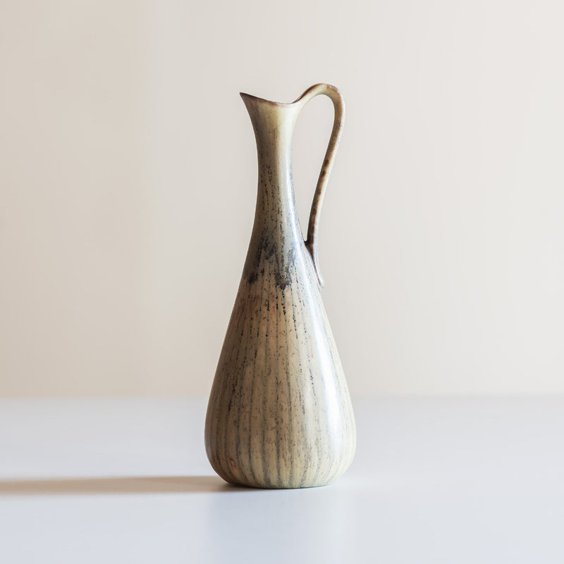 Gunnar Nylund Small Stoneware Pitcher, ARL Series, for Rörstrand, 1950s