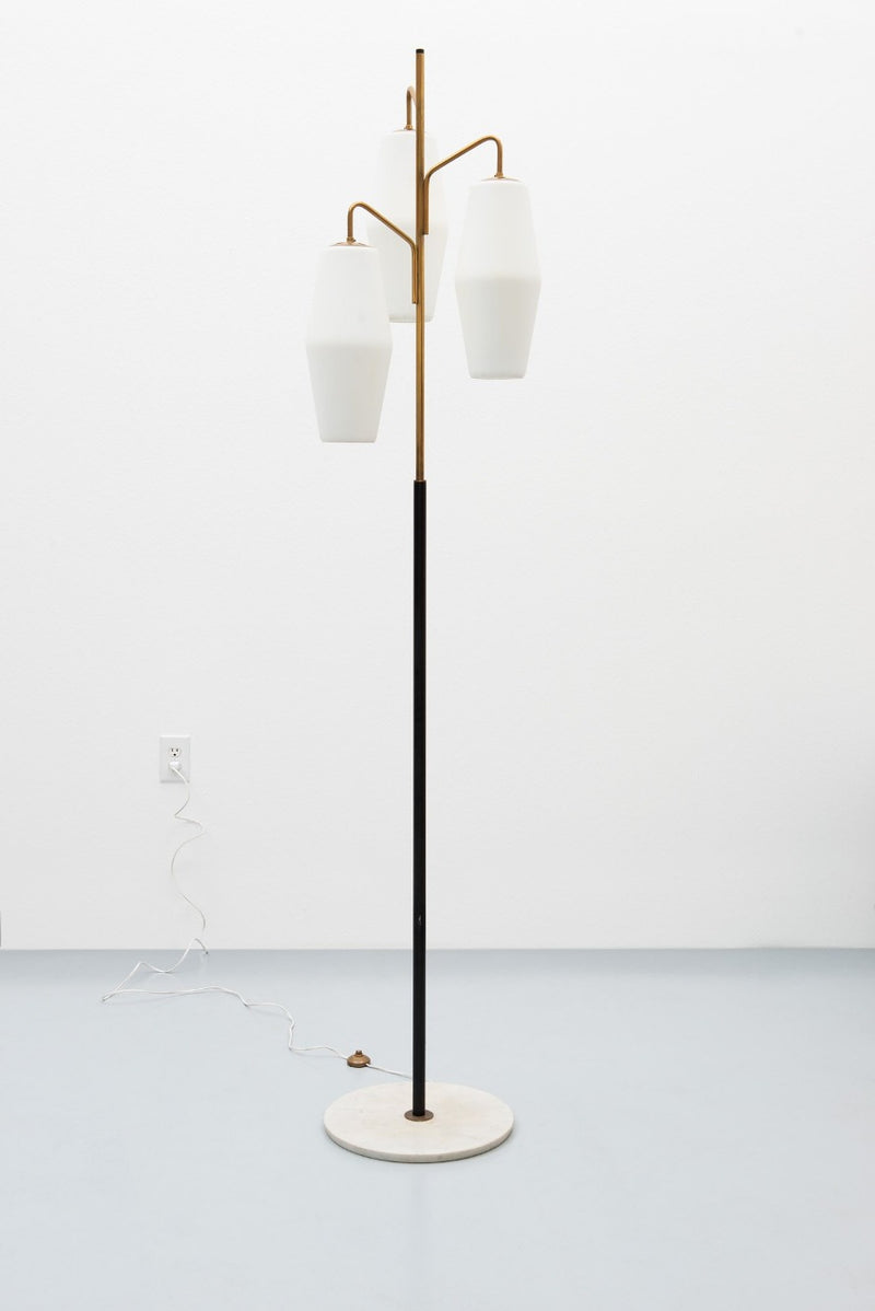 Elegant Floor Lamp Model 4052 by Stilnovo, Italy, 1960s