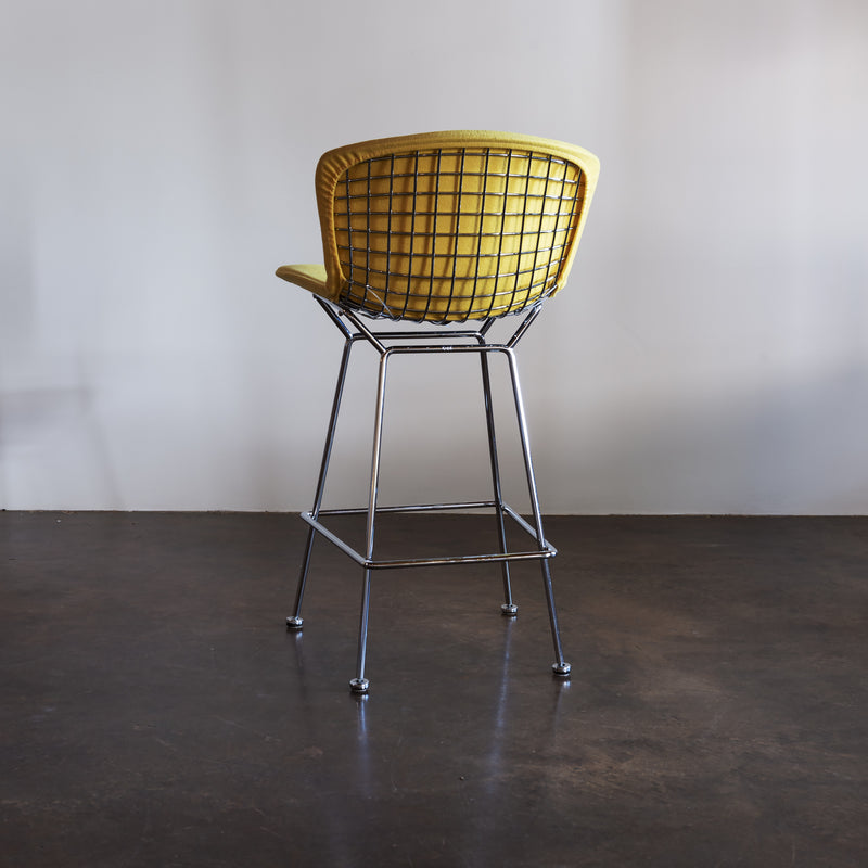 Harry Bertoia Set of Four Bar Stools for Knoll International, 1970s