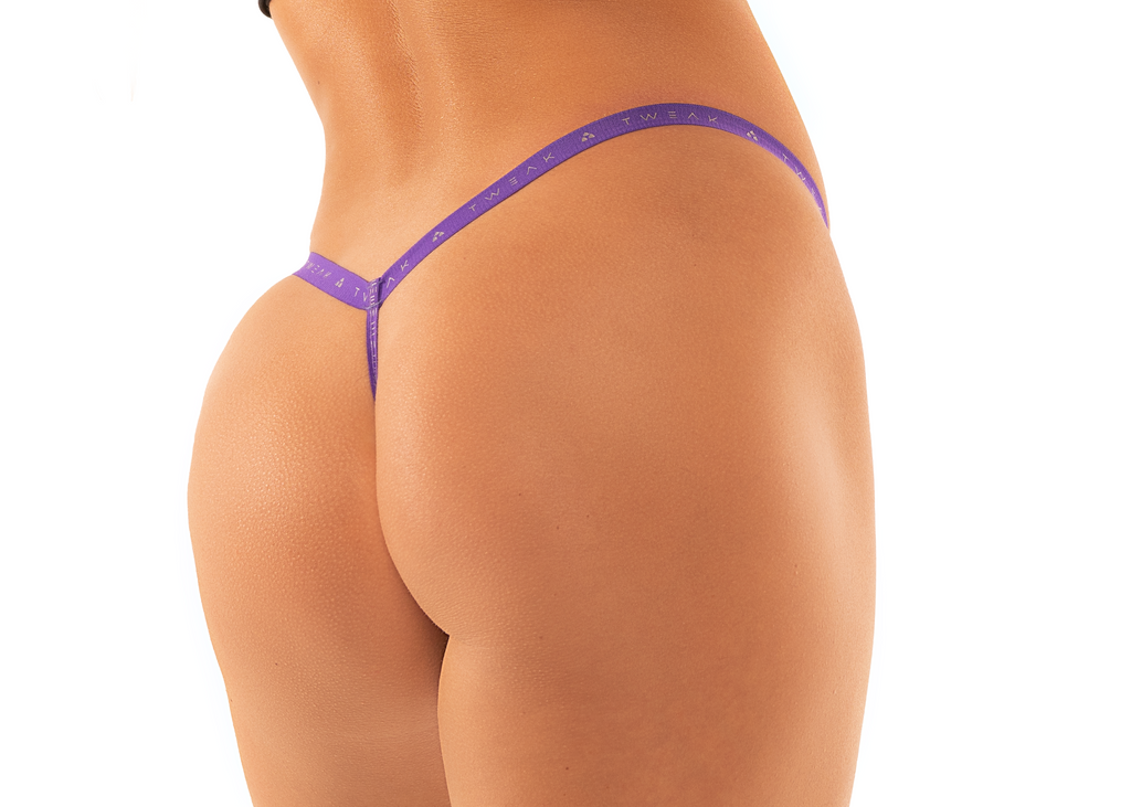 Thong – Pink & Purple.