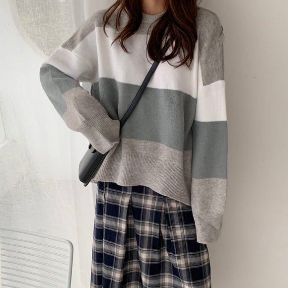 Three Color Tone Sweater