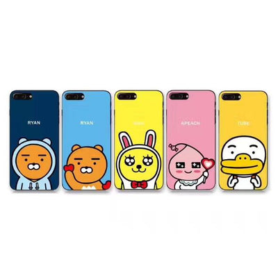 Cartoon KAKAO FRIENDS Cute TPU Phone Case For iPhone - Phone Case Offers