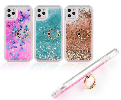 Liquid Quicksand Phone Case  Ring Kickstand Soft TPU Case - Phone Case Offers