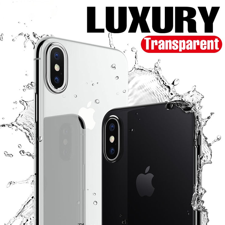 Phone Case for iPhone 8 7 6 Plus 6s Silicone Soft Coque Luxury TPU Full Cover Case for iPhone 6 7 7 Plus 8 8 Plus X Case - Phone Case Offers