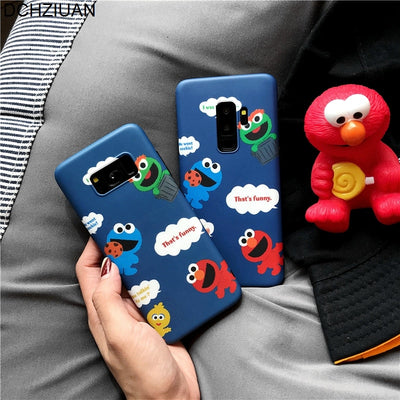 Phone Cases For Samsung S9 Case For Samsung Galaxy S9 S8 Plus NOTE 8 Cute Cartoon Soft Case Cover Silicone Coque Note 9 - Phone Case Offers