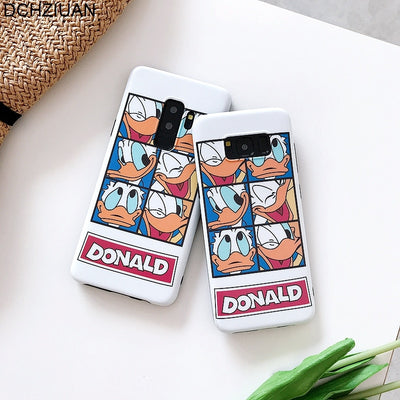 Donald Phone Case For Samsung Galaxy S8 S8Plus S9 Plus Samsung NOTE 8 NOTE 9 Case Cover Cute Cartoon Soft Case - Phone Case Offers