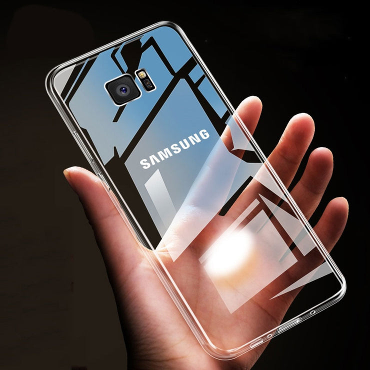 Case For Samsung Galaxy Note 9 8 S9 S8 Plus S7 Edge HD Clear Soft TPU Phone Cases For Samsung A5 A3 A7 2017 Cover Capa - Phone Case Offers