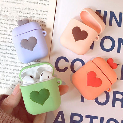 For Apple Airpod case cover Cartoon Wireless Bluetooth Earphone Silicone Charging Headphones Cases Protective - Phone Case Offers
