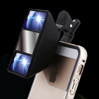 Mobile 3D Phone Lens Stereoscopic Lens High Quality Smartphone 3D Camera Stereo Photos Fisheye Lens With Clip - Phone Case Offers