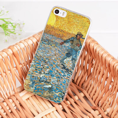For iphone 7 6 X Case Artistic Van Gogh Starry Night Coque Phone Case for iPhone 8 7 6 6S Plus X 5 5S SE XR XS XSMAX - Phone Case Offers