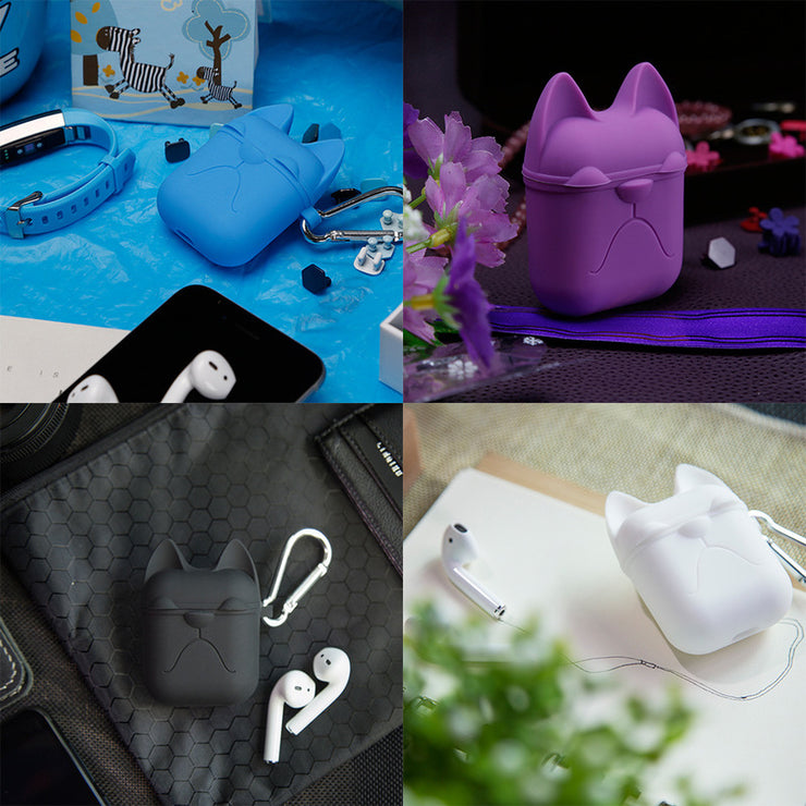 Newest Cartoon Earphone Silicone Case For Apple Airpods Accessories Protective Case Decoration Cover Pouch Earphone Case 3D Soft - Phone Case Offers